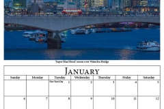 B - January