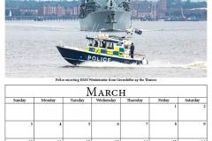 D - March