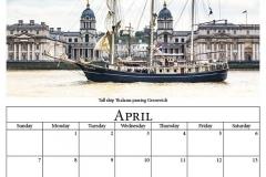 E - April