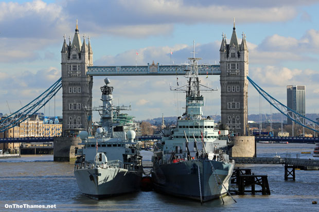 HMS ARGYLL and HMS BELFAST