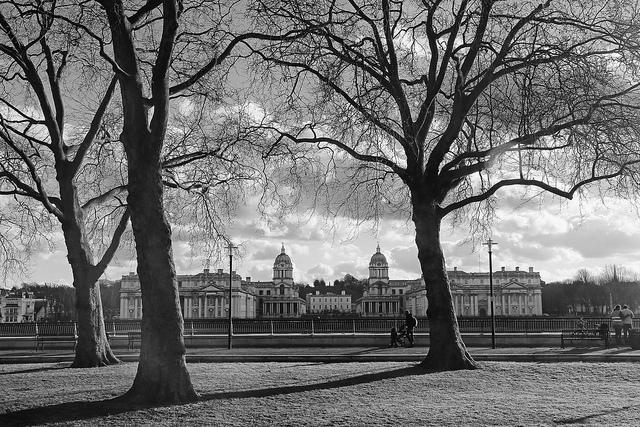 Greenwich from Island Gardens