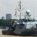 German navy task group visits London