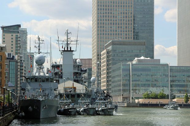 GERMANY NAVY IN LONDON