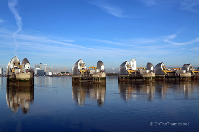 THAMES BARRIER 30TH ANNIVERSARY