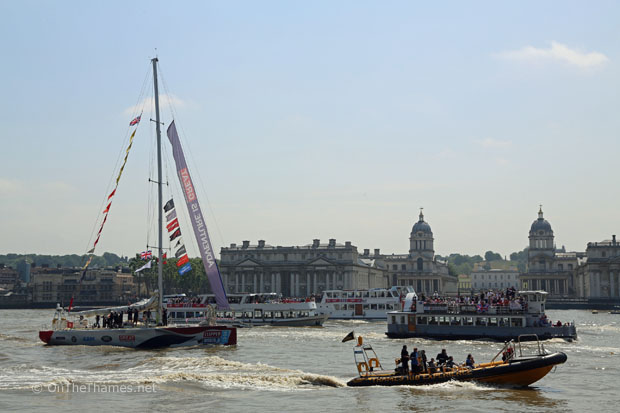 CLIPPER RACE LONDON HOMECOMING