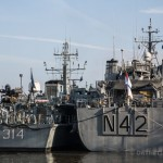 NATO minesweeper fleet arrives in London