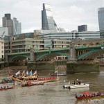 "Lord Mayor's ""No"": City of London pageant sinks Thames flotilla"