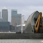 Thames Barrier closed for the first time this year to protect London