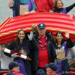 Magna Carta anniversary marked on the Thames