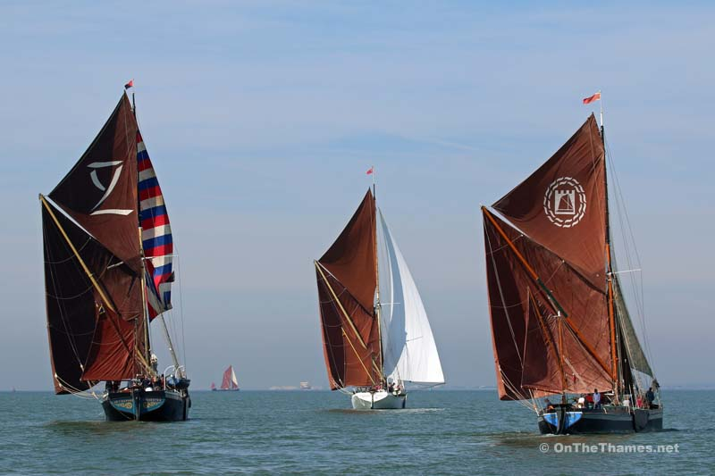 THAMES SAILING BARGE MATCH 2015
