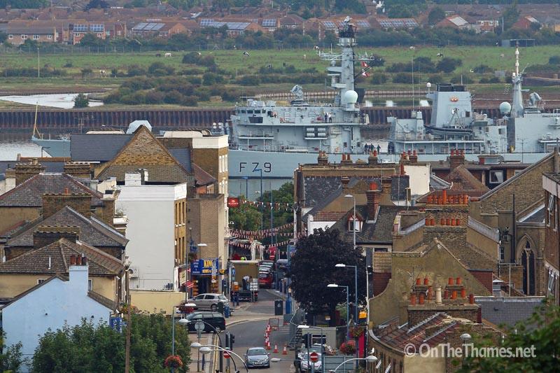 HMS PORTLAND LONDON