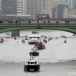 No Gloriana but show goes on for Lord Mayor's Thames flotilla