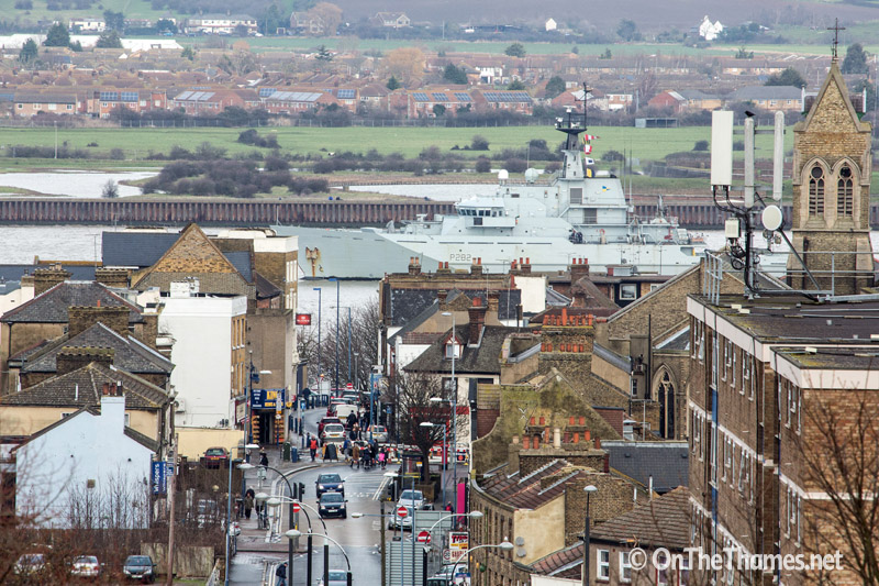 HMS Severn in London