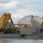 Thames Barrier closes for the first time this winter