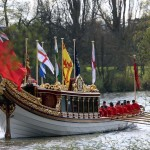 Gloriana to lead Thames flotilla celebrating Queen's 90th birthday