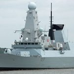 Royal Navy's newest warship visits London
