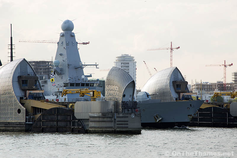 HMS Duncan Leaves London