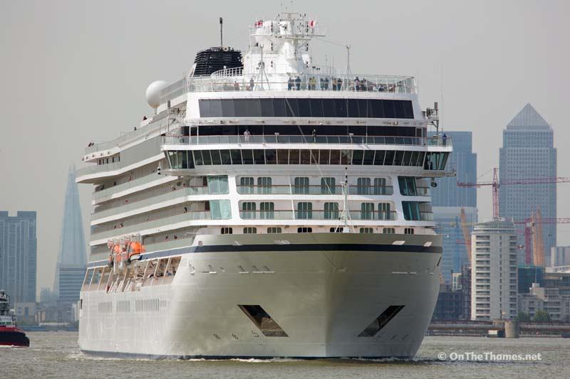 Photos: Cruise ship Viking Sea christened on the River Thames
