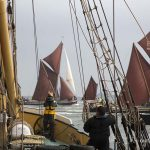 Barge match season gets underway on the Medway