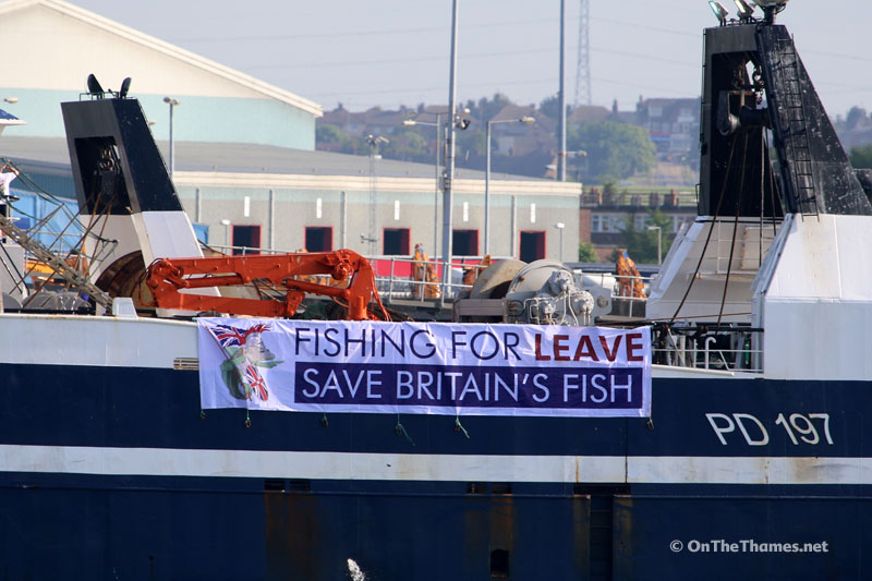FISHING FOR LEAVE FLOTILLA