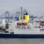 RMS St Helena in London for farewell visit