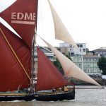 Photos: Thames Sailing Barge Match 2016