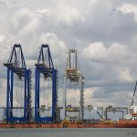 More huge cranes arrive at London Gateway