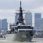 JDS Kashima says sayonora to London after first visit