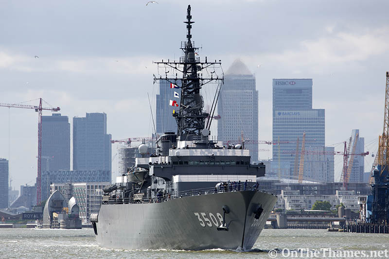 JDS KASHIMA LEAVES LONDON
