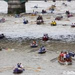 Annual Great River Race takes place on the Thames