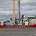 Tilbury Power Station crane taken away by heaving lifting ship as Tilbury 2 plans unveiled
