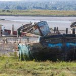 Dunkirk hero ship Ena pictured decaying at Hoo