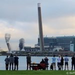 Tilbury Power Station chimneys reduced to rubble