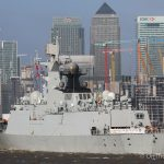 Two Chinese frigates arrive in the capital